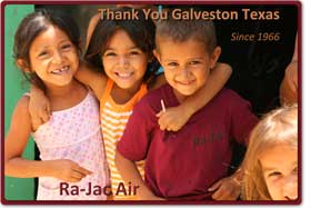 Ra Jac Services Galveston Tx Air Conditioning And Heating